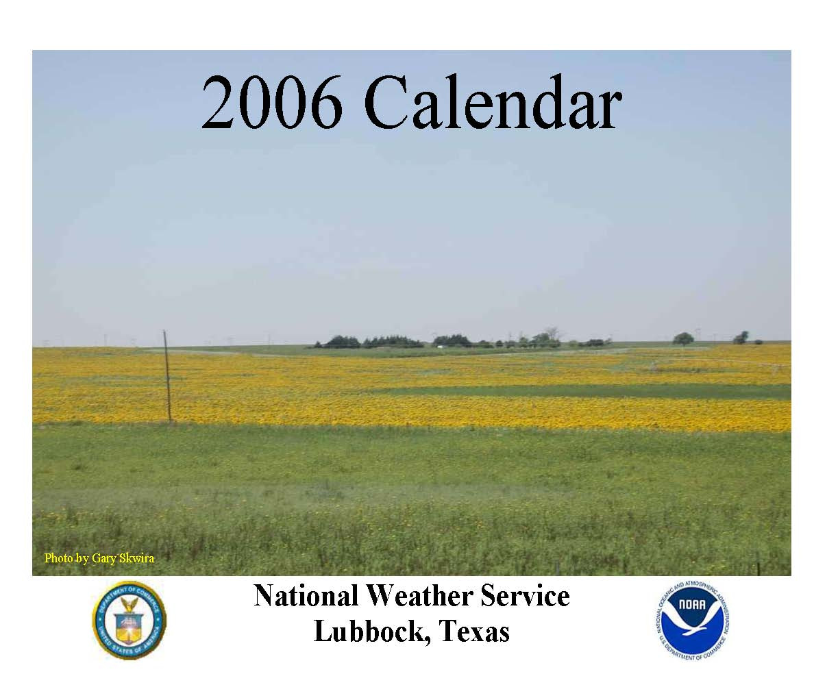2006 NWS Lubbock Calendar