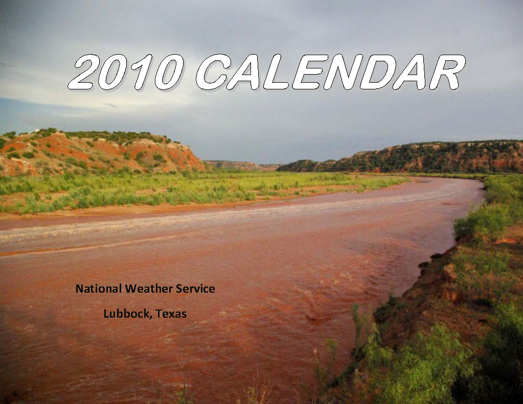 2010 NWS Lubbock Calendar